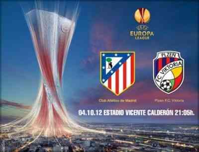 El Atlético de madrid se enfrenta al Viktoria Plzen
