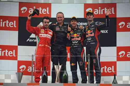 Vettel sigue intratable en la F1 8