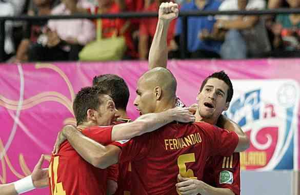 España clasifica a la final del Mundial de fútbol sala 3
