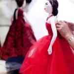 muñecas vestidas de christian dior