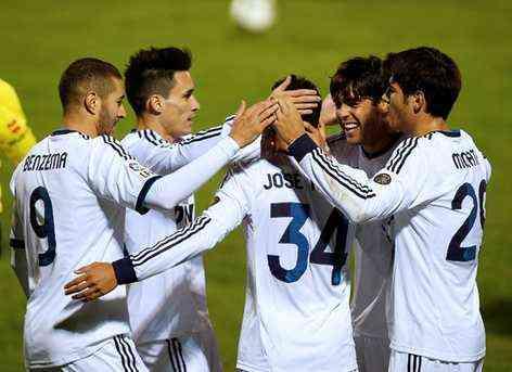 El Real Madrid vuelve al triunfo en la Copa del Rey 3