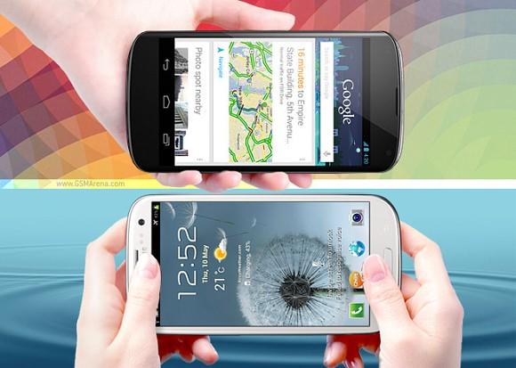 Nexus 4 vs Galaxy SIII