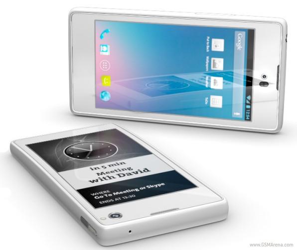 YotaPhone: un smartphone que se cree e-reader 3
