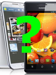 Huawei está preparando un terminal capaz de competir con el Samsung Galaxy Note II