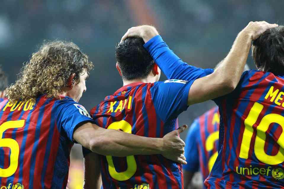 El Barcelona renueva a Messi, Xavi y Puyol 3