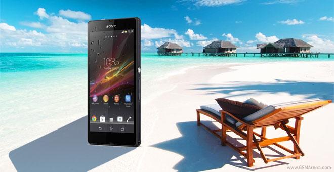 Sony Xperia Z video