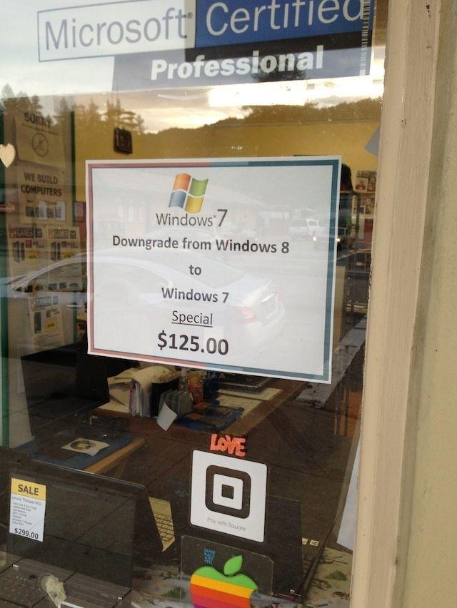 Windows 7 vs Windows 8