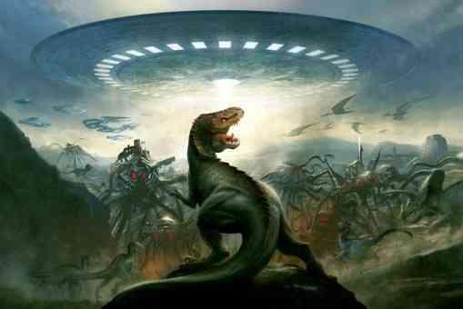 Dinosaurios en la prehistória