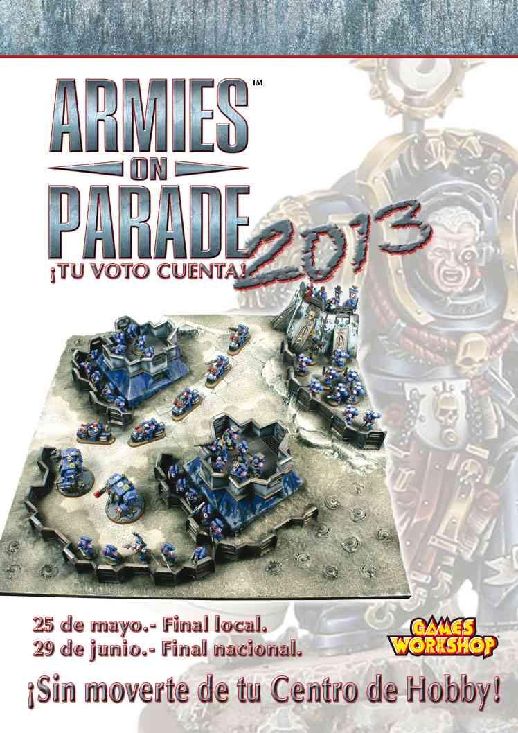 armies on parade 2013