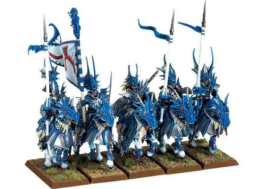 caballería alto elfo