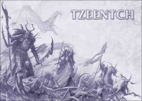 demonios de Tzeentch