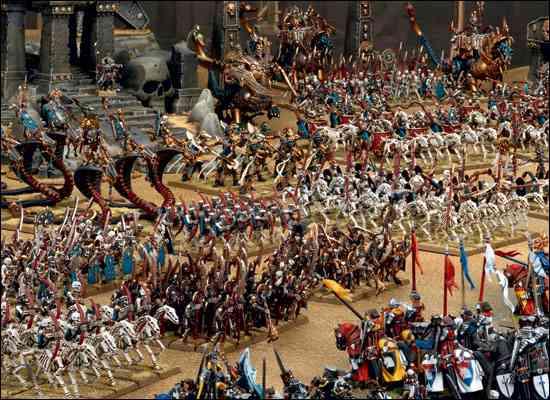 ejércitos warhammer