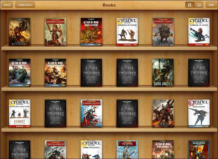 libros warhammer digitales