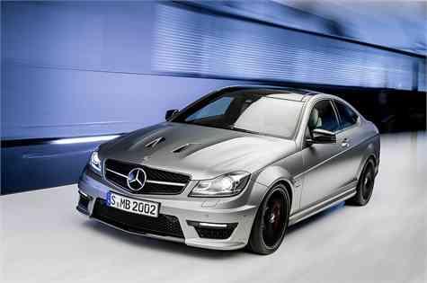 """Mercedes-Benz presenta el C 63 AMG """"Edition 507"""""""