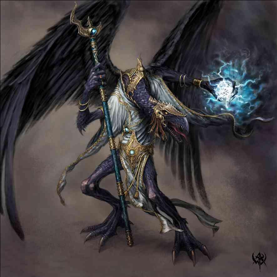 demonio volador