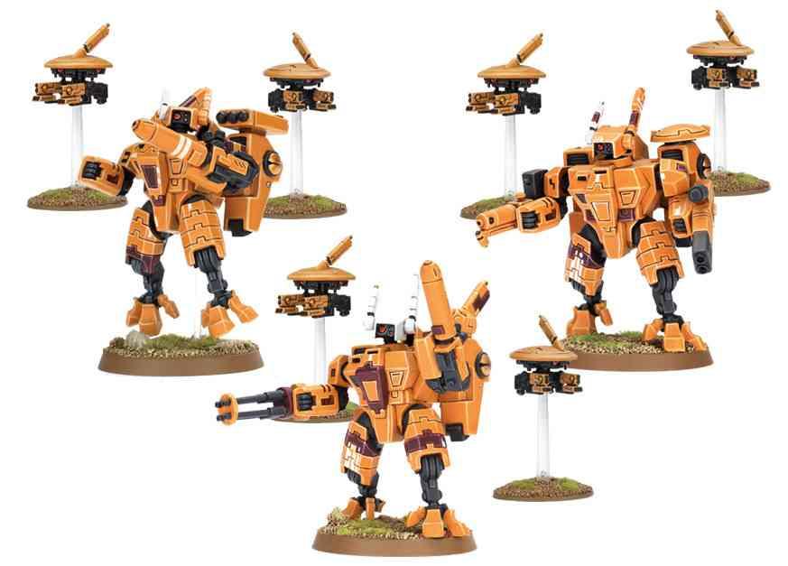 equipos armaduras TAU
