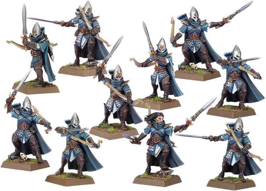 nuevos sombrios altos elfos