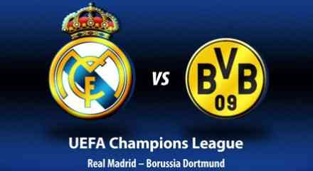 real madrid borussia dormunt champions league