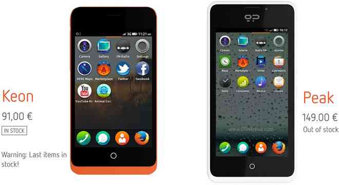 terminales Firefox OS