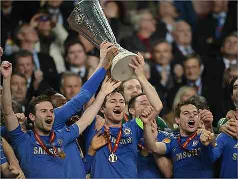 El Chelsea, campeón de la Europa League