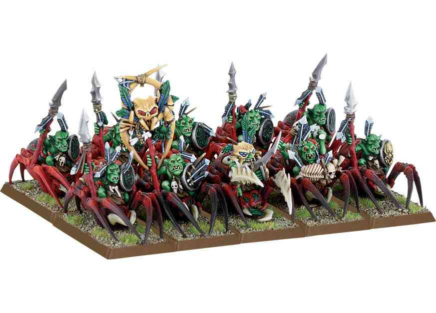 warhammer-jinete-de-arana-goblins-silvanos