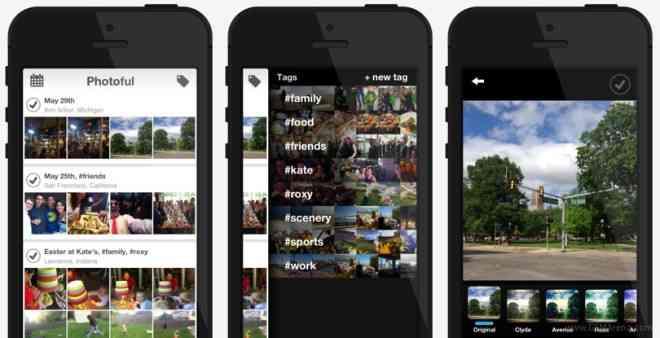 aplicacion galería iOS