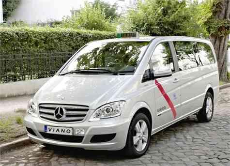 Mercedes-Benz Viano, el primer taxi 5+ plazas en España