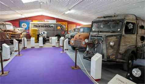 Museo de Coches de Cine Toledo