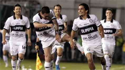 Olimpia saca ventaja en la idea de la final de la Libertadores