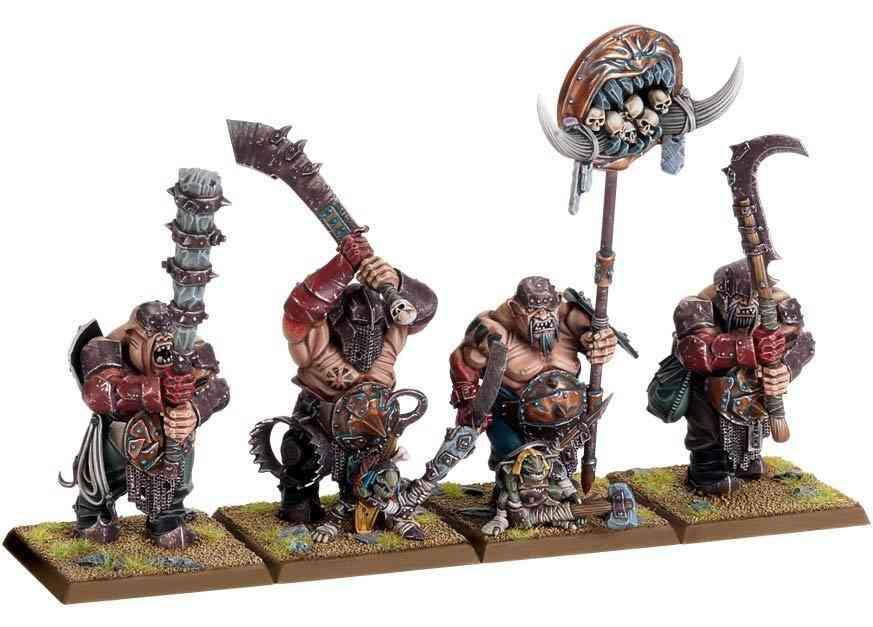 Ogros de warhammer