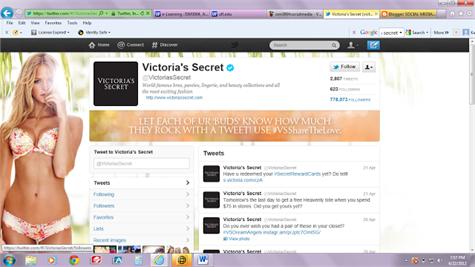 VictoriaSecret Twitter