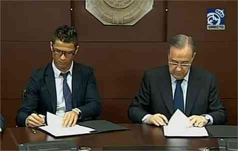 Cristiano Ronaldo, renovado hasta 2018