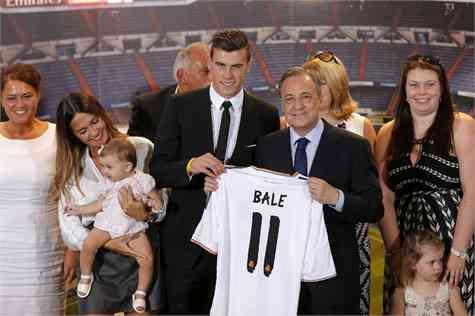 Gareth Bale presentacion