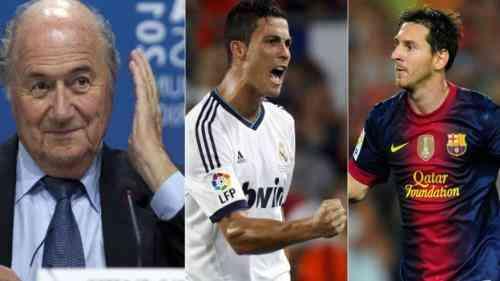 Polémica por las declaraciones de Blatter sobre Cristiano