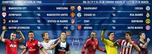 Octavos de final Champions League