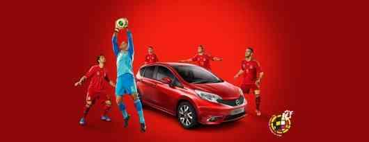 Nissan y la roja te llevan a Brasil