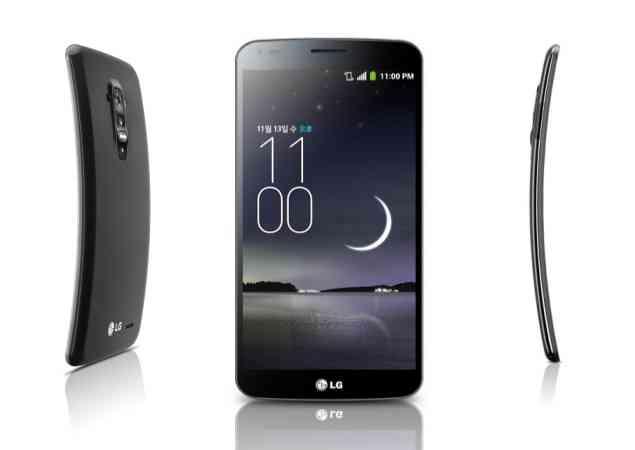 El smartphone curvo LG G Flex