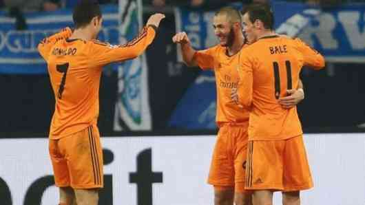real madrid schalke vuelta champions league