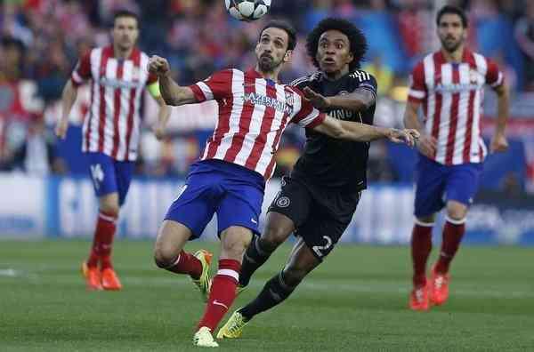 Atlético Madrid Chelsea 1