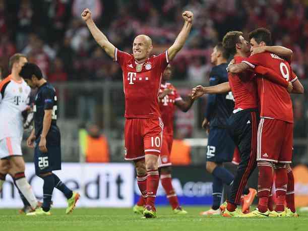 Bayern Munich - Manchester United