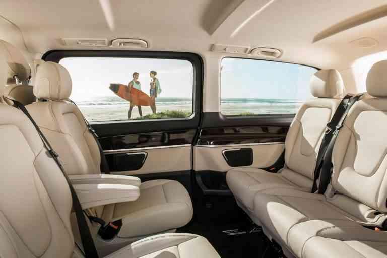 Mercedes-Benz Clase V, lujo para ocho ocupantes