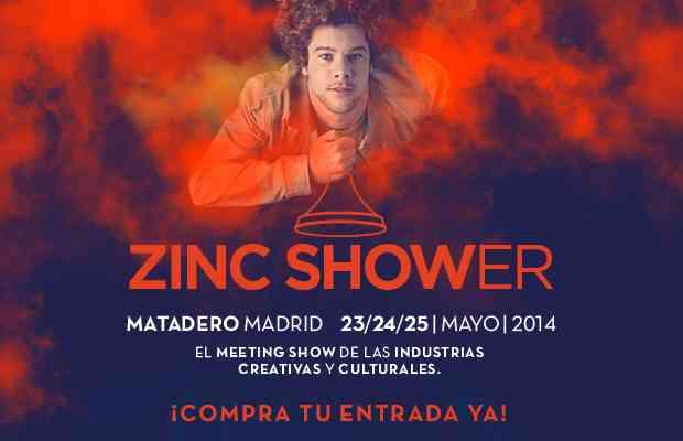 zincshower - evento matadero