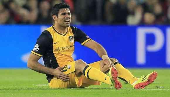Diego Costa lesión 1