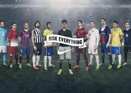 Risk everything, la última campaña de Nike