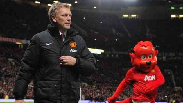David Moyes Manchester United 2