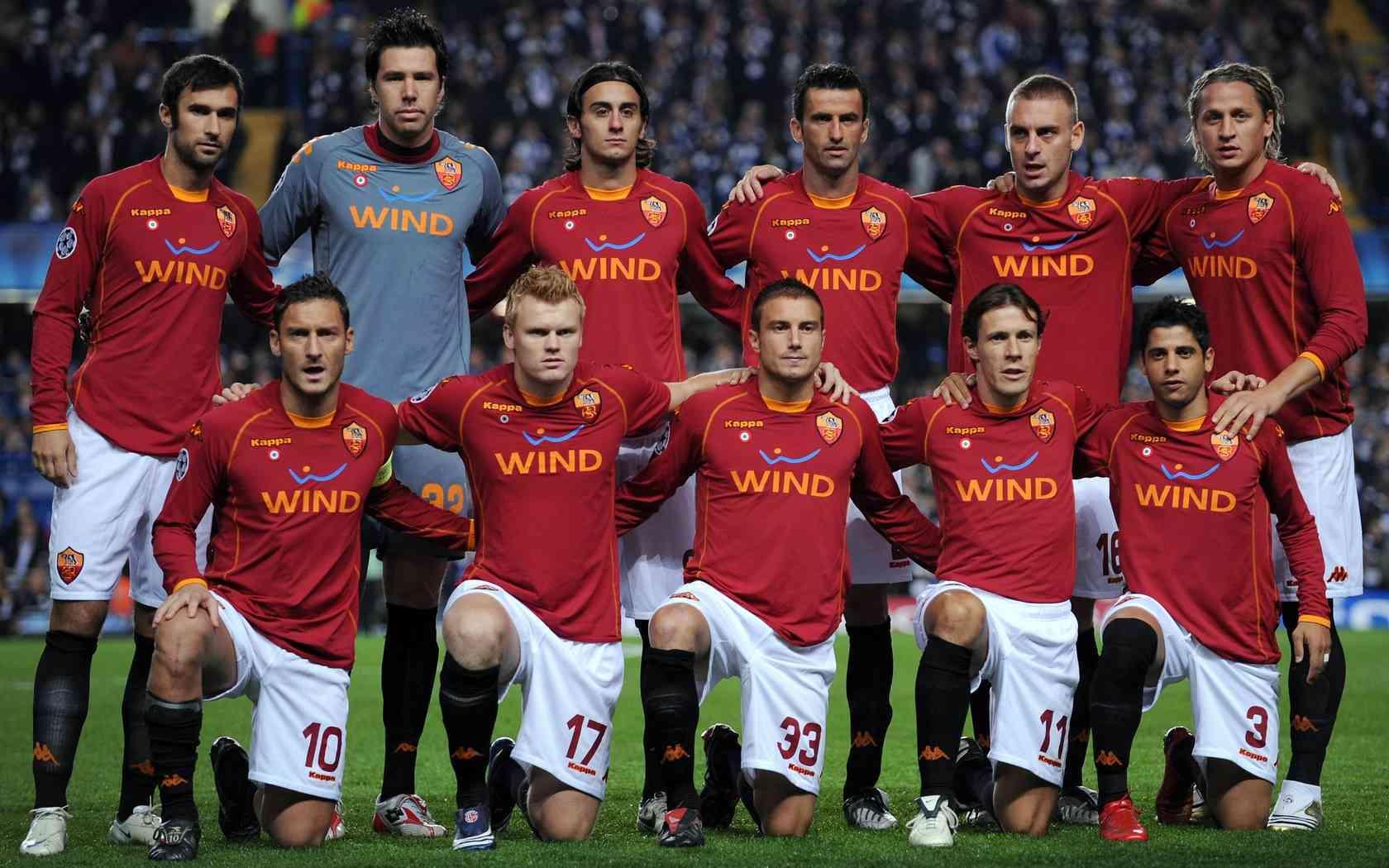 Roma Champions League 2