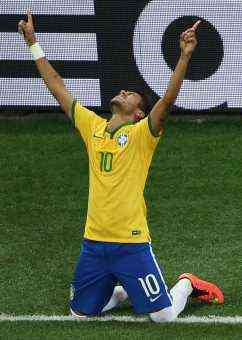 Segundo gol de Neymar
