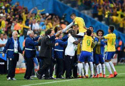 Empate de Brasil, Neymar