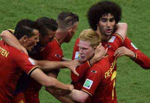 belgica derrota a suiza