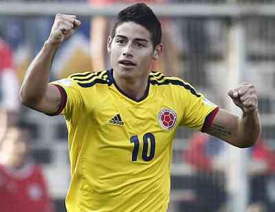 james rodriguez once ideal